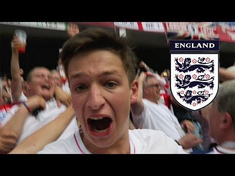 ENGLAND vs PANAMA *VLOG* - BEER GONE EVERYWHERE!!! | Russia World Cup 2018
