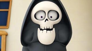 Funny Animated Cartoon | Spookiz New Skeleton Teacher in Disguise 스푸키즈 | Cartoon for Children