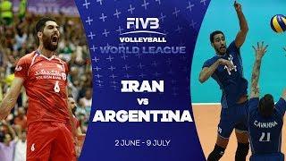 Iran v Argentina highlights - FIVB World League