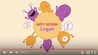Happy Birthday Logan, full HD 1080p