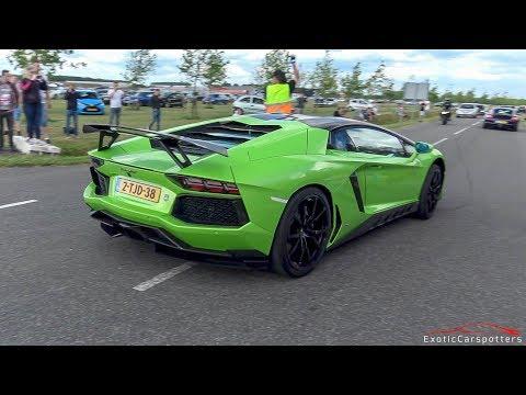Xxx Mp4 3x Lamborghini Aventador LP700 4 W Akrapovic Exhaust LOUD Revs Accelerations Drag Races 3gp Sex