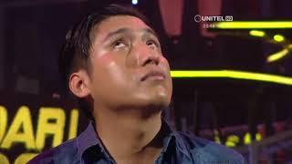 "Semifinal: Jorge Luis interpretó ""Mi niña bonita""  de Chino y Nacho"