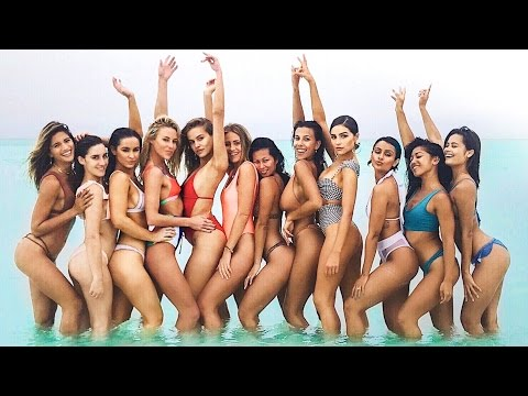 12 BIKINI MODELS, A YACHT AND A PRIVATE ISLAND! | VLOG S02E19