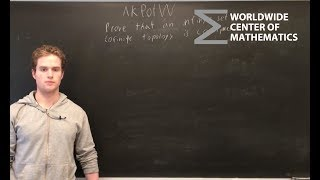 AKPotW: Cofinite Topology Compactness [Topology]