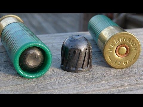 Remington 12 GA 3 Magnum Slug Gel Test