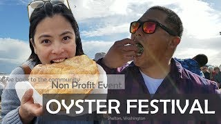 SHELTON WASHINGTON: OYSTER FESTIVAL [Doug&Marie'sLife S3E35] Army Wife Vlog