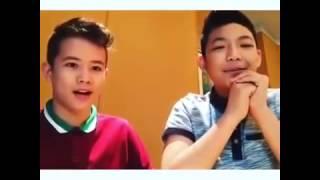 Darren and Jk~Banana chalenge