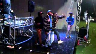 LEKGANYANE ft M.AT-1 STEP 2 STEPft  REKREYA BANYANE- LIVE AT MODIMOLLE