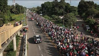 The Migrant Caravan Continues After A 4 Day Rest In Mexico
