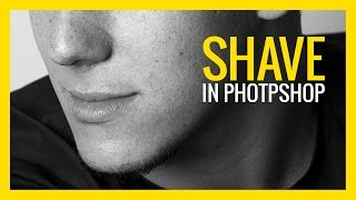 How to Shave in Photoshop 😉