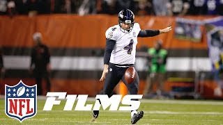 Boomerangs, Knuckleballs, Hooks: How Sam Koch & the Ravens Changed Punting | NFL Films Presents