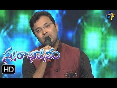Xxx Mp4 Ayyayyo Chethilo Song Sri Krishna Performance Swarabhishekam 1st October 2017 ETV Telugu 3gp Sex