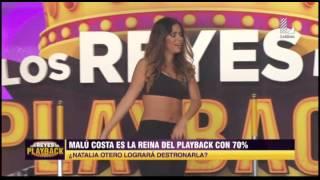 Natalia Otero sorprendió a todos al imitar a 'Shakira'