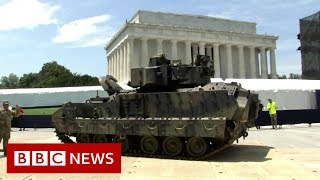 'If Korea can have a military parade, why can't we?' - BBC News