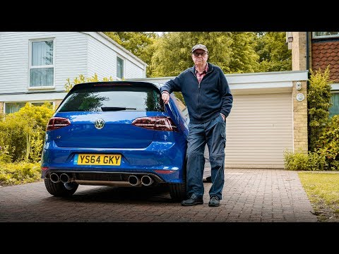 THIS 75 YEAR OLD BUILT A 600 BHP VW GOLF R