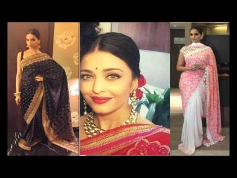 Best Hairstyle on Saree Looks | Indian Hair Style