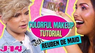 Reuben de Maid: Colorful Makeup Tutorial