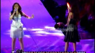 Sarah Geronimo and Rachelle Ann Go - Aegis Hits medley [Cebuana Anniversary Concert] (28Aug12)