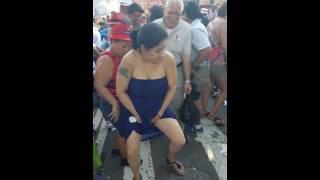 drunk lady's dancing