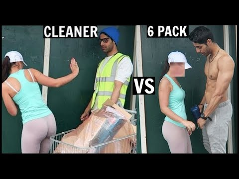 Xxx Mp4 CLEANER Vs 6 PACK Picking Up Girls SOCIAL EXPERIMENT PT 2 3gp Sex