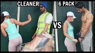 CLEANER vs 6 PACK Picking Up Girls (SOCIAL EXPERIMENT) PT.2