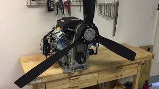 Harbor Freight Predator 22 hp Engine and Reduction Drive for Airboats