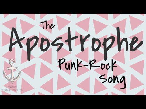 Xxx Mp4 The Apostrophe Punk Rock Song 3gp Sex