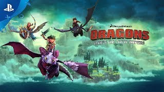 DreamWorks Dragons - Dawn of New Riders   PS4