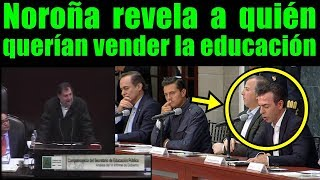 """Querían vender la EDUCACIÓN al Grupo de """"Mexicanos primero"""" para crear una educación de es... clavos"""