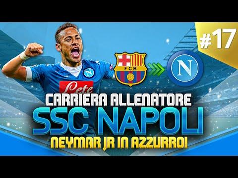 NEYMAR IN AZZURRO! | CARRIERA ALLENATORE NAPOLI #17 | FIFA 16