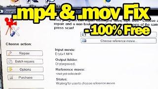 Fix Broken or Corrupt .mp4 .mov Videos Files