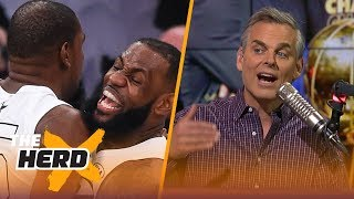Colin Cowherd on why LeBron to Lakers transcends sports, KD