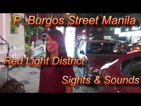 Xxx Mp4 P Burgos Street Manila Red Light District Sights And Sounds 3gp Sex