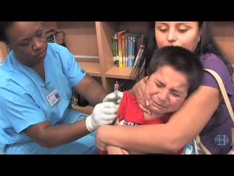 Swine flu vaccine makes its way to school kids
