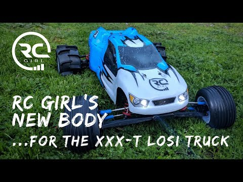 Xxx Mp4 RC GIRL S NEW BODY For The Vintage XXX T Losi Truck 3gp Sex