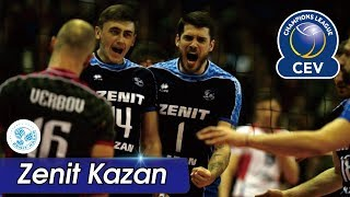 [Points] ZENIT KAZAN vs. Berlin Recycling Volleys | CEV 2017