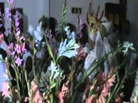 Chegada do Orixá Osun do Baba Mauro na Festa de Osun