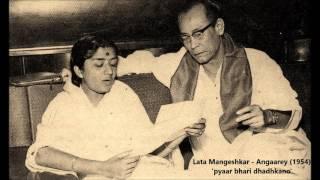 Lata Mangeshkar - Angaarey (1954) -