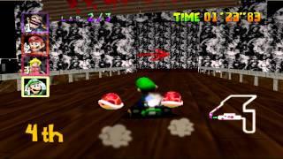 Mario Kart 64 High Resolution Texture Pack Gameplay 1080p