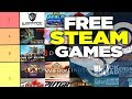 The Free PC Steam Games Tier List
