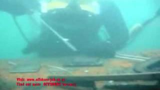 underwater welding - offshore Job