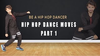 Hip Hop Dance Moves Part 1 ( Simple Dance Step ) Easy Tutorial hindi   Vicky Patel Choreography
