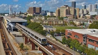 MARTA, Atlanta Transit from the Air [DRONE VIDEO]