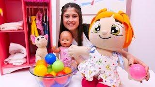 Eğitici #çocukoyunları. Soğuk – sıcak oynuyoruz. Ayşe, #bebekGül, #Loli ve Lili ile eğlenceli video!