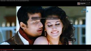 Anjana Anjana -  Vachadu Gelichadu Official Video Song,Jeeva,Tapsee,SS Thaman