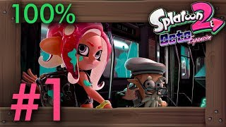 Splatoon 2 - Octo Expansion: 100% Walkthrough Part 1 - All Line A Missions | Switch Gameplay