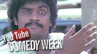 Best Bollywood Comedy Scenes of Johny Lever, Chunky Pandey - Hindi Movie Tezaab