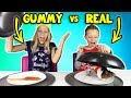 Download Video Download GUMMY vs REAL FOOD 4!!! 3GP MP4 FLV