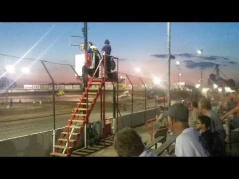 MOWA Sprint Car Heat 3  Tri State Speedway