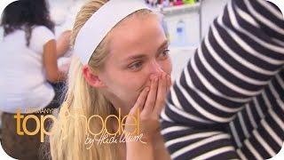 Germany's next Topmodel Staffel 8   Umstyling: Rote Haare für Anna? mit Anna Maria Damm